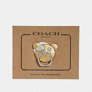 🎁🌟JUST IN🌟 Coach Bear Phone Grip